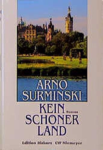 9783875859300: Kein sch�ner Land. Roman