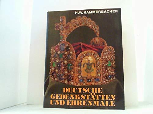 9783875880953: Deutsche Gedenkst�tten und Ehrenmale [Gebundene Ausgabe] by Hammerbacher, Han...