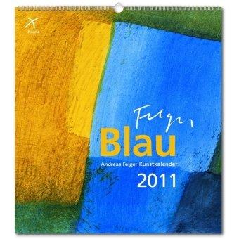 9783876305714: Blau 2011. Kunstkalender