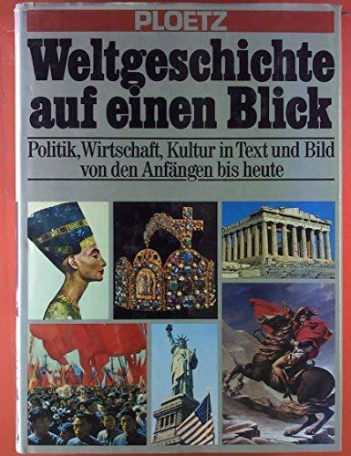 Weltgeschichte auf einen Blick: Ploetz, Karl: