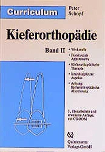9783876525785: Curriculum Kieferorthopädie 1/2
