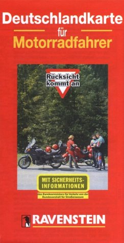 9783876600987: Germany Motorbike Map 1:800,000