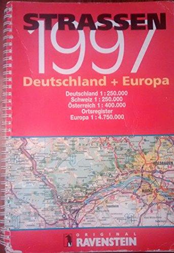 9783876608174: Strassen Auto-Atlas: Deutschland + Europa 1997