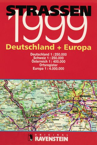 9783876608198: Strassen Auto-Atlas 1999: Deutschland + Europa (German Edition)