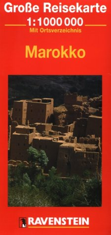 9783876608518: Morocco (Ravenstein International Maps)