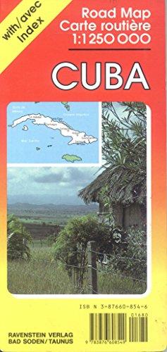 9783876608549: Cuba Road Map 6854