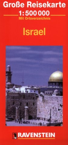 9783876608563: Israel Map (Ravenstein International Maps)