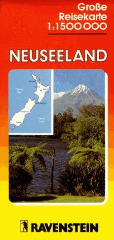 9783876608624: New Zealand: International Road Map