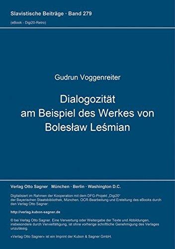 Dialogizität am Beispiel des Werkes von Boleslaw: Voggenreiter, Gudrun.
