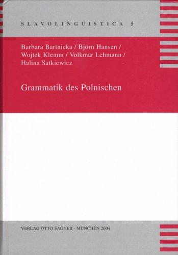9783876908458: Grammatik des Polnischen