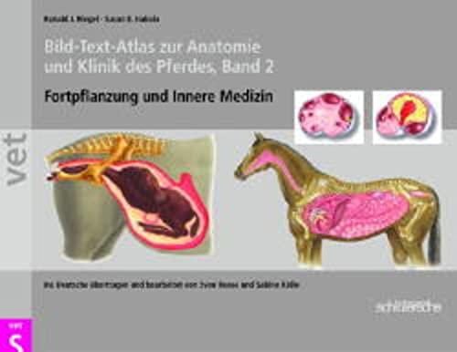 9783877066522: Bild-Text-Atlas zur Anatomie und Klinik des Pferdes 2: Fortpflanzung und Innere Medizin