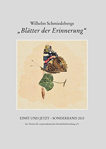 Wilhelm Schmiedebergs Blätter der Erinnerung.