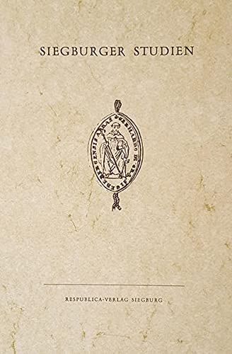 9783877101353: Taufbuch der Pfarre St. Servatius Siegburg, 1794-1815 (Siegburger Studien)