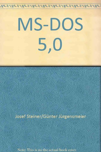 MD-DOS 5.0: Steiner, Josef und