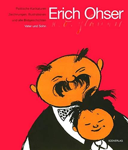 Politische Karikaturen, Zeichnungen, Illustrationen und alle Bildgeschichten 'Vater und Sohn&#...
