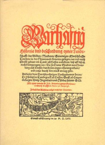 Wahrhaftige Historia und Beschreibung einer Landschaft der: Hans Staden, Reinhard