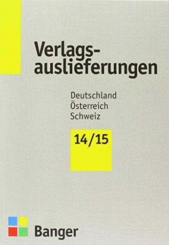 9783878561569: Verlagsauslieferungen 2014/2015