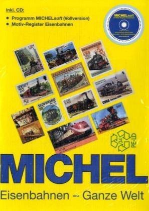 9783878585732: Michel Motivkatalog Eisenbahnen-Ganze Welt