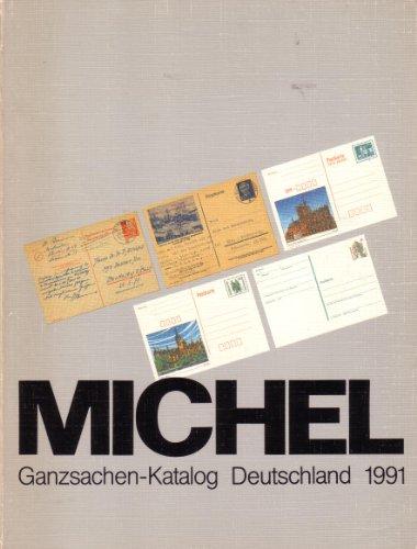 Michel - Ganzsache-Katalog Deutschland 1991