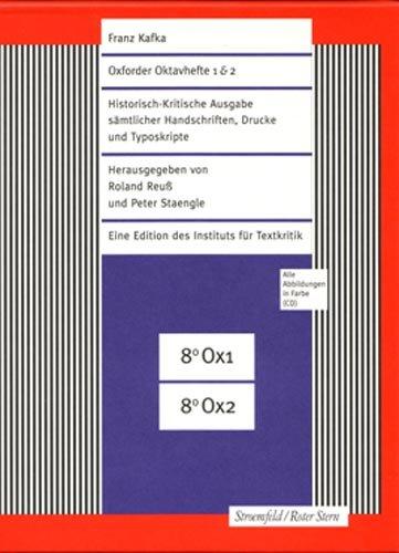 Oxforder Oktavhefte 1/2 / Kafka-Heft 4 / Ein Landarzt und CD-ROM: Franz Kafka