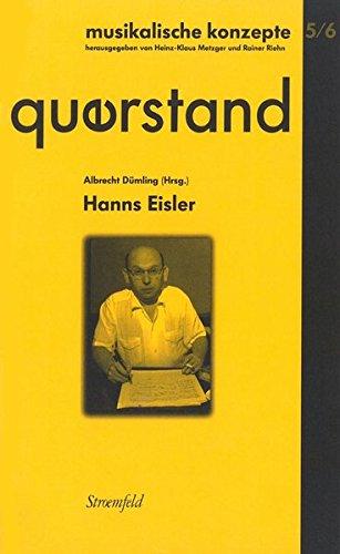 Querstand 5/6: Hanns Eisler: Albrecht D�mling