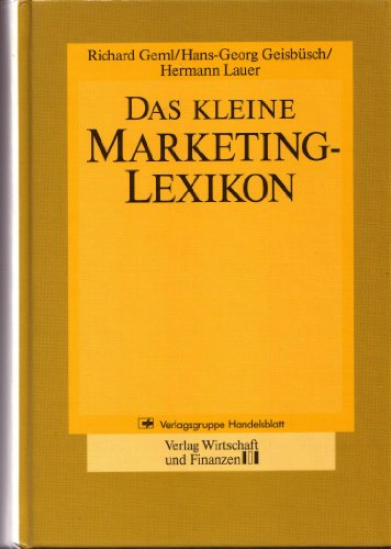 9783878811008: Das kleine Marketing-Lexikon (German Edition)