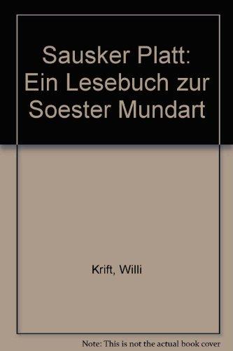 9783879021185: Sausker Platt: Ein Lesebuch zur Soester Mundart