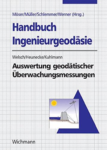 9783879072958: Handbuch Ingenieurgeod�sie: Auswertung geod�tischer �berwachungsmessungen
