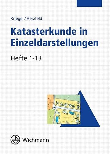 Katasterkunde in Einzeldarstellungen, CD-ROM: Günther Herzfeld