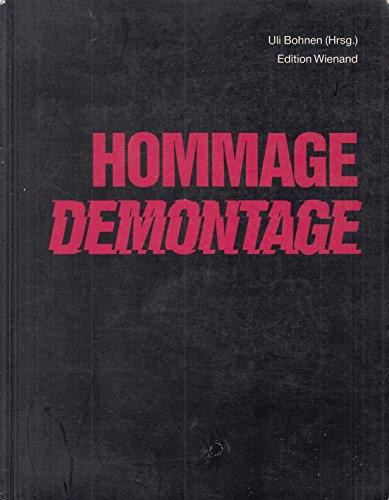 9783879091935: Hommage-Demontage. Dt. /Engl