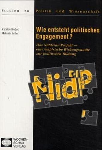 Wie entsteht politisches Engagement?: Karsten Rudolf