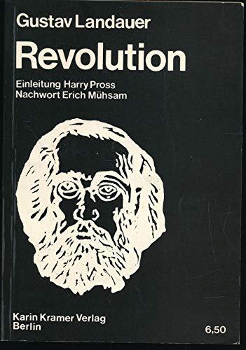 Revolution: Gustav Landauer