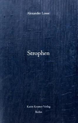 9783879563517: Strophen: Gedichte