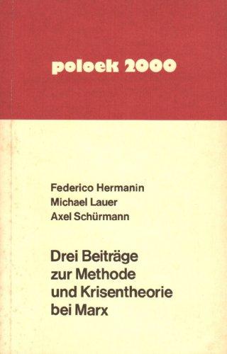 Drei Beiträge zur Methode und Krisentheorie bei: Hermanin, Federico/Lauer, Michael/Schürmann,