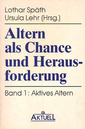 9783879594184: Aktives Altern, Bd 1