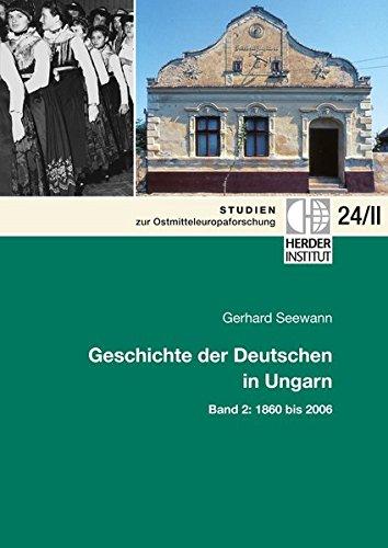 9783879693740: Geschichte der Deutschen in Ungarn, 2 Tle.