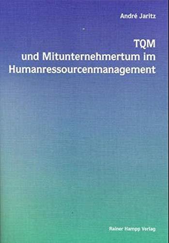 9783879884018: TQM und Mitunternehmertum im Humanressourcemanagement