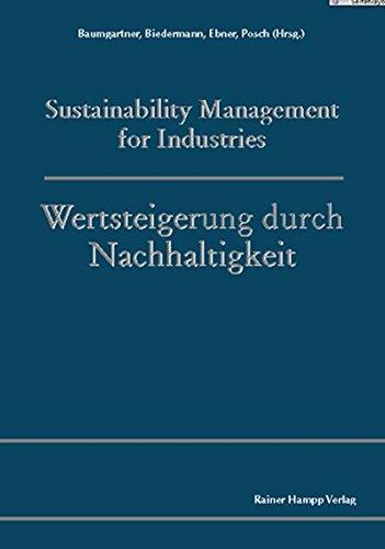 9783879889884: Sustainability Management for Industries /Wertsteigerung durch Nachhaltigkeit