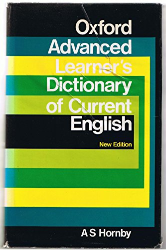 9783879920488: Oxford advanced learner's dictionary of current English.