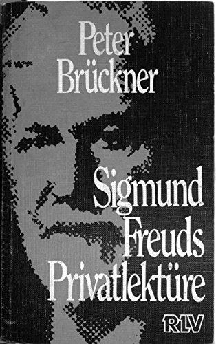 9783880052000: Sigmund Freuds Privatlektüre