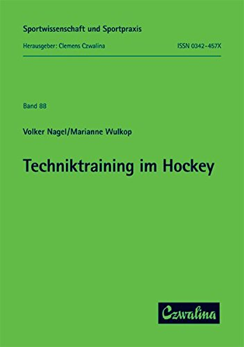 9783880202290: Techniktraining im Hockey