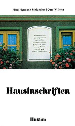 Hausinschriften. (388042599X) by Brian Daley