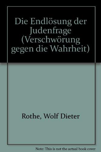 9783880430013: Die Endloesung der Judenfrage Band 1: Zeugen