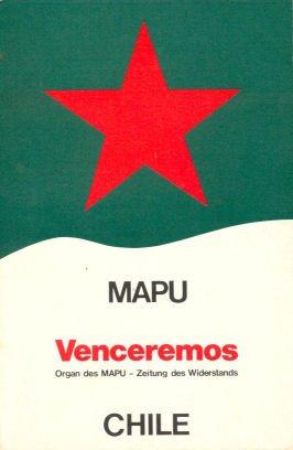 9783880480216: Venceremos: Organ des MAPU, Zeitung des Widerstands, Poder Popular, Chile (German Edition)