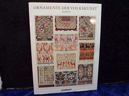 9783880593725: Ornamente der Völker. Asien, Afrika, Australien und Amerika