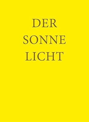 9783880690387: Der Sonne Licht: Lesebuch der Freien Waldorfschule