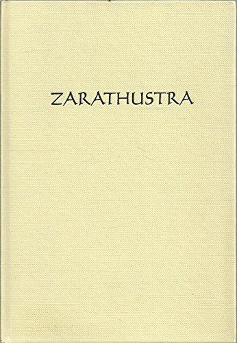 9783880691445: Zarathustra