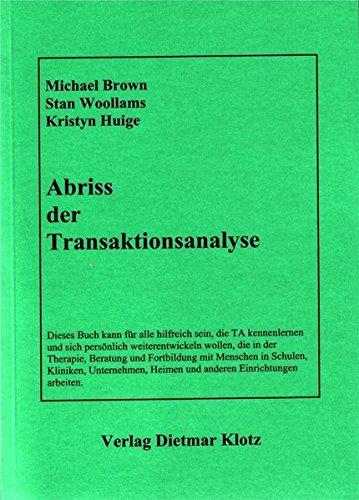 9783880741270: Abriss der Transaktionsanalyse