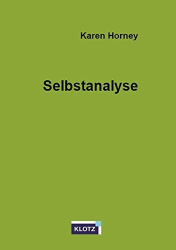 Selbstanalyse - Karen Horney