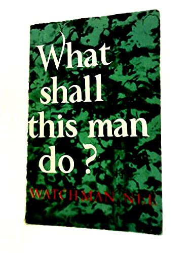 Sit Walk Stand [Paperback] by Watchman Nee; - (9783880839892) by Watchman Nee
